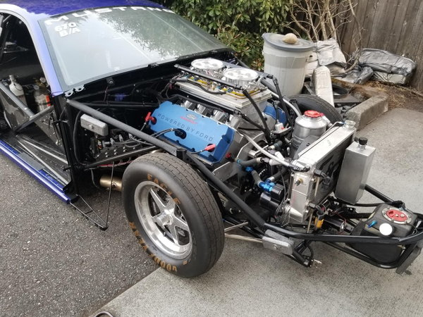 Ford 453 ci Pro Stock engine with 2 spare blocks and parts  for Sale $29,500
