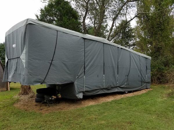 $14,999k 37' Play-Mor 5th wheel Toy hauler Camper/Trailer  for Sale $14,999