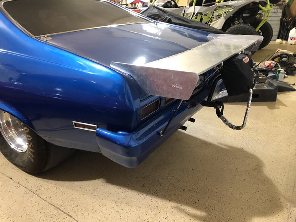 74 Nova BB drag car Roller (Lower Price)   for Sale $16,500