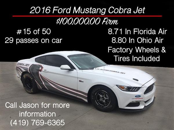 2016 Ford Mustang Cobra Jet For Sale In Edgerton Oh Racingjunk
