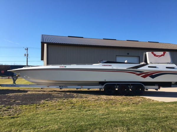1986/2017 Fountain 40' New Goodwin Competition 700 hp engine  for Sale $60,000