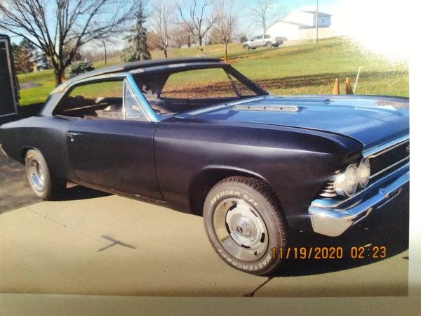 1966 Chevrolet Chevelle  for Sale $22,500