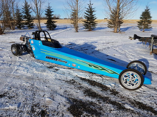 Jr Dragster with 7.90 engine and extras  for Sale $4,200
