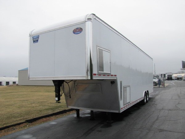 2019 United Trailers Gooseneck 36' Trailer  for Sale $39,995