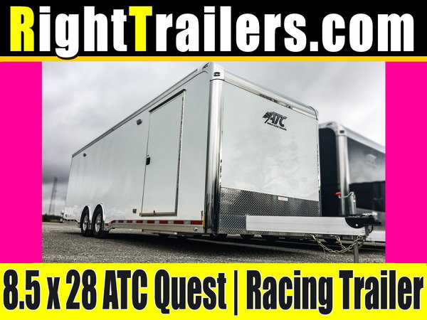 8.5x28 ATC Quest | Race Car Trailer