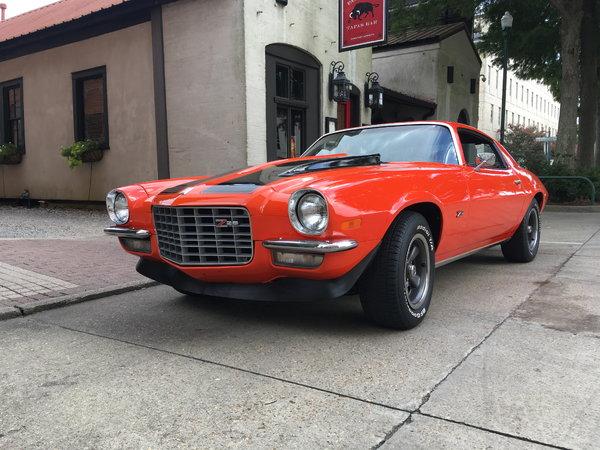 1972 Chevrolet Camaro  for Sale $27,000