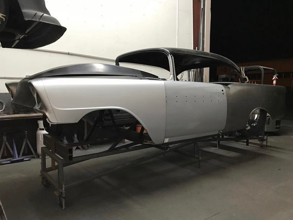 56 Chevy Steel Body Shell  for Sale $12,000