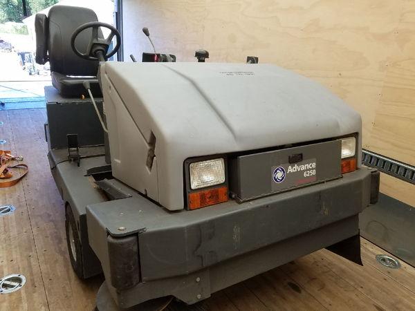 Kubota Turbo Diesel Track Sweeper