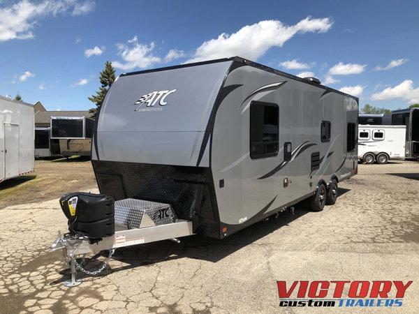 2020 ATC 28' Aluminum Toy Hauler