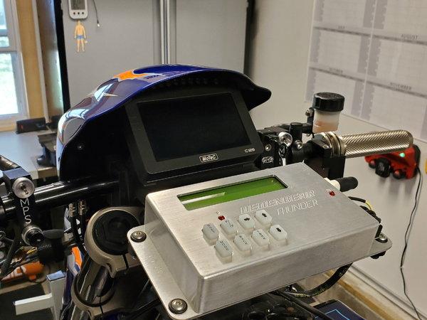 HTP Performance Tuned Hayabusa Drag Bike Operation