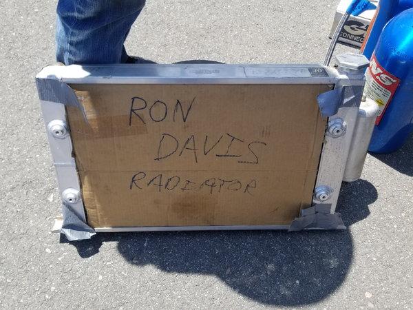 Ron davis radiator  for Sale $400