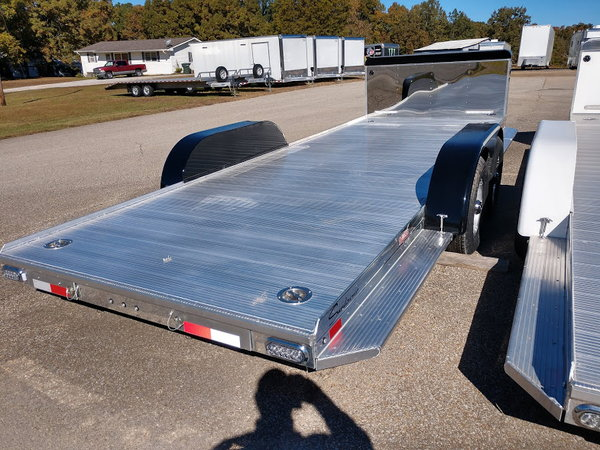 2019 Sundowner 22' Ultra All Aluminum Open Car Trailer with   for Sale $9,395