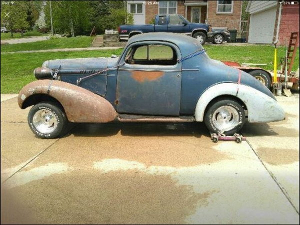 1936 Oldsmobile 3 window coupe  for Sale $6,500