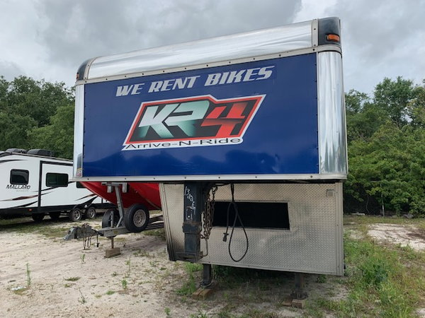 48' Trailer with Work Area & Living Area  for Sale $14,500