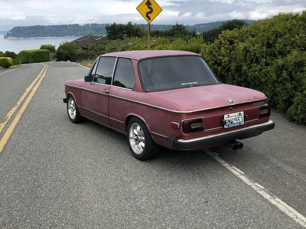 BMW 2002 For Sale >> Modified 1976 Bmw 2002 For Sale In Mukilteo Wa Price 22 500