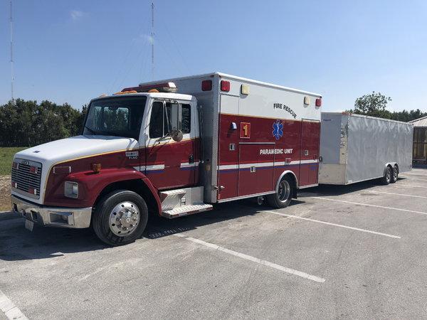 Ambulance RV Conversion  for Sale $15,500