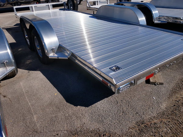 2019 Sundowner 16' All Aluminum Open Car Trailer with Spare  for Sale $6,295