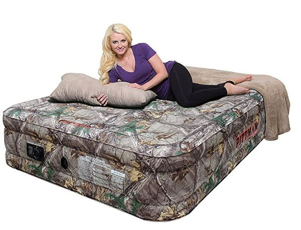 Camo Camp Mattress  for Sale $179.99