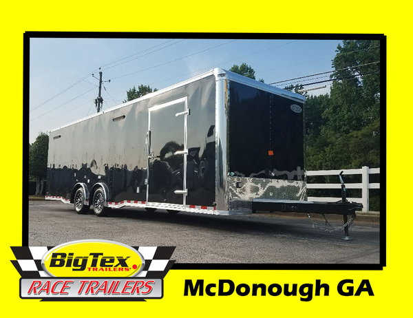 2020 8.5x28 Forest River Race Trailer Loaded