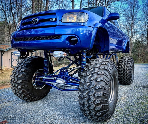2003 Toyota Tundra street legal monster truck