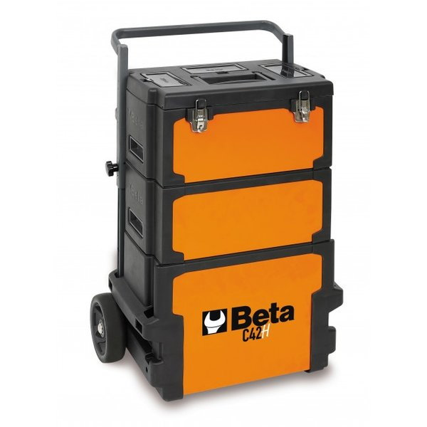BETA TOOLS C42H-THREE-MODULE TOOL TROLLEY - 042000002  for Sale $340