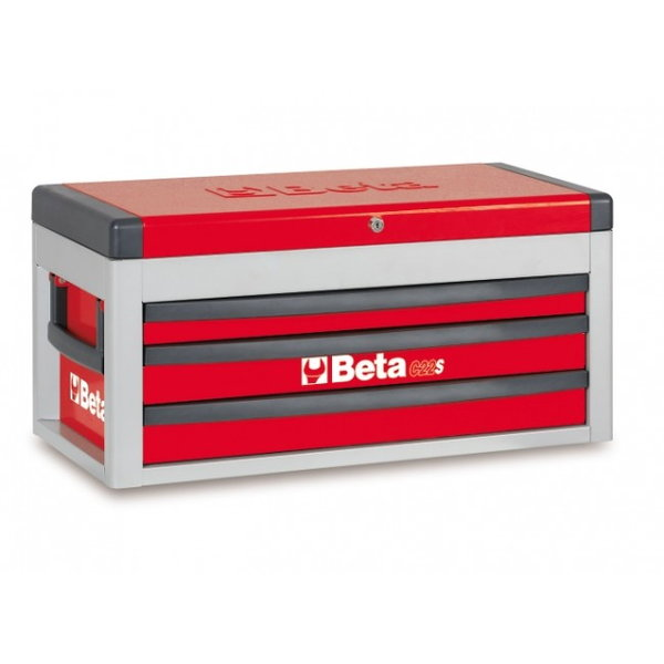BETA TOOLS C22S-R-PORTABLE TOOL CHEST RED - 022000503  for Sale $301