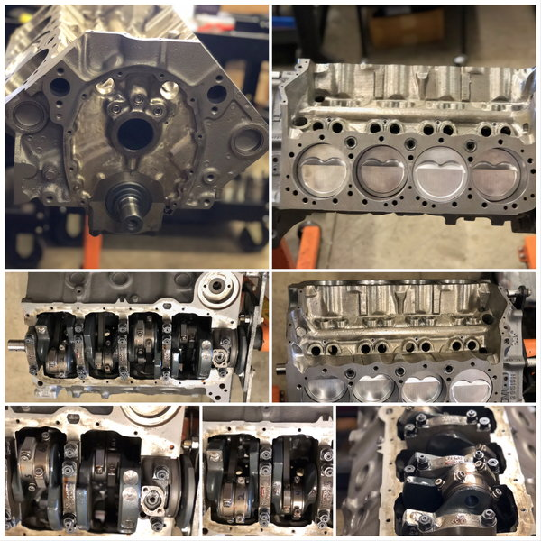 HI PERFORMANCE (RACE) CHEVY SHORT BLOCK 421 CUBIC INCH  for Sale $4,000