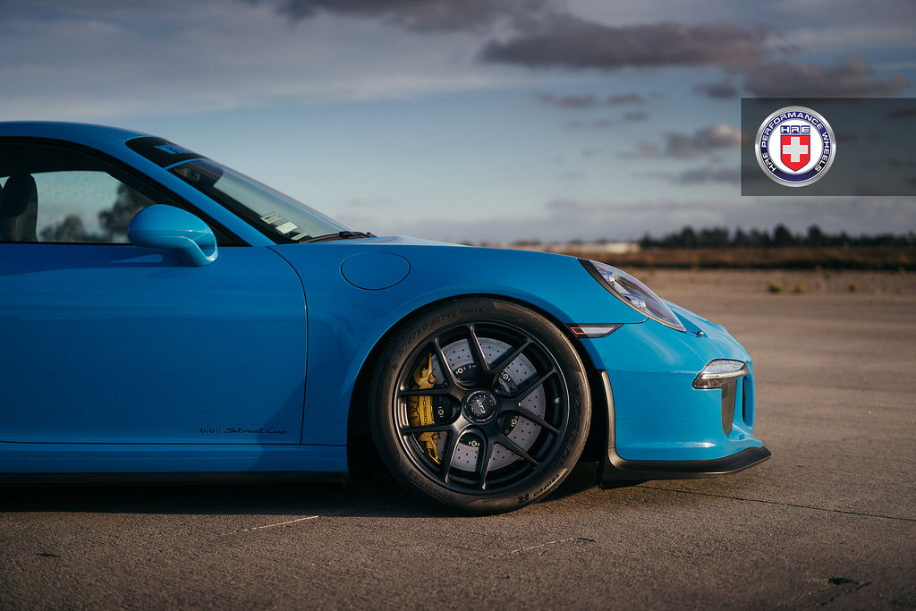 Mexico Blue Porsche 991 Gt3 With 19 Quot Hre R101 Wheels With