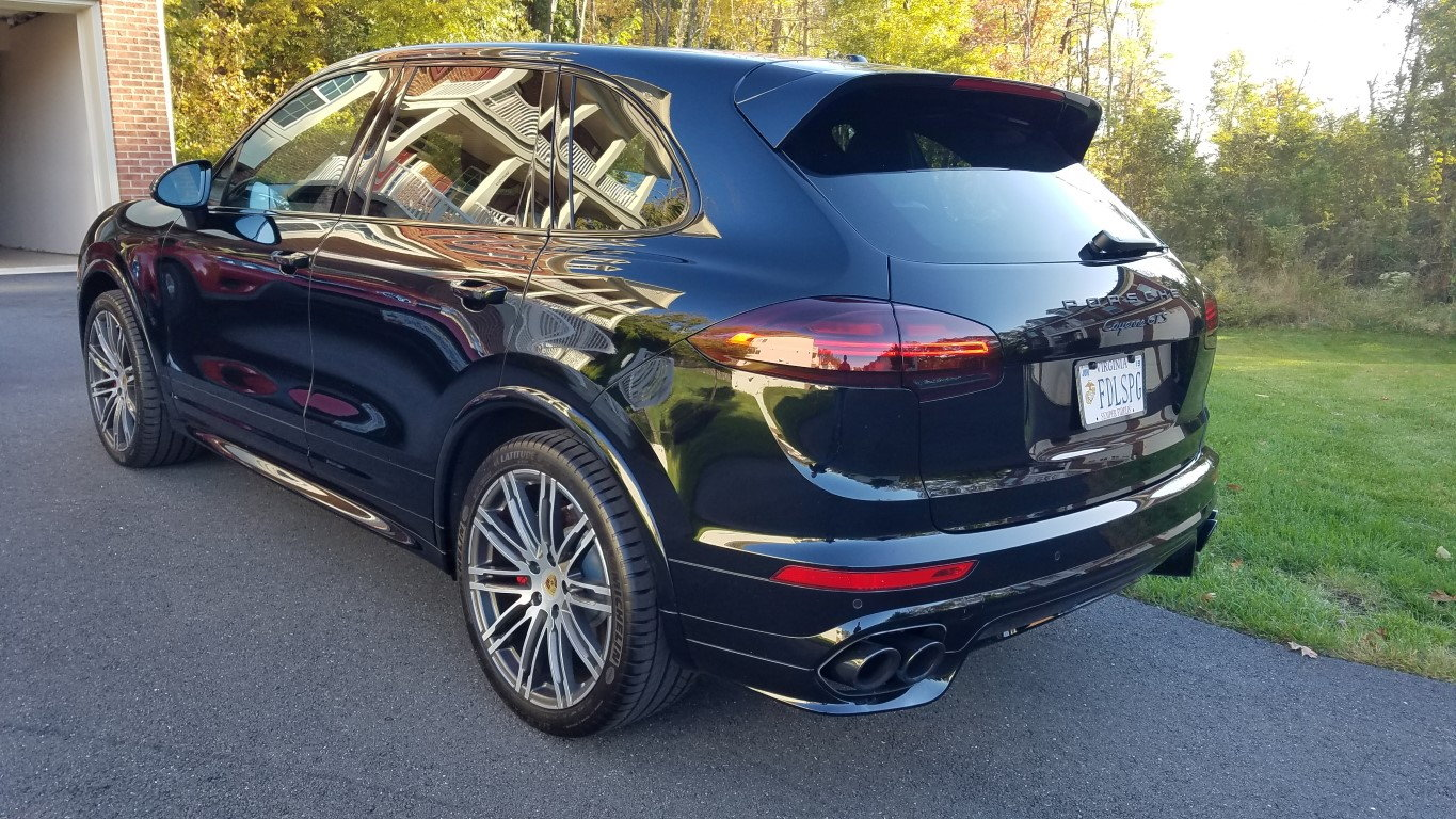 2017 Porsche Cayenne Gts Model 958 2 With Only 690 Miles