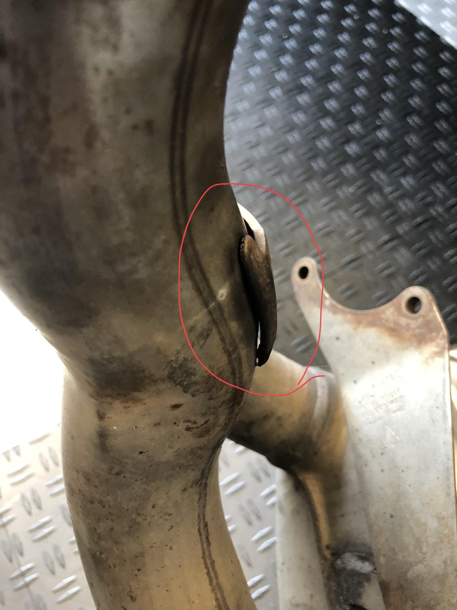 Broken Exhaust Muffler Bracket??? - Rennlist - Porsche Discussion Forums