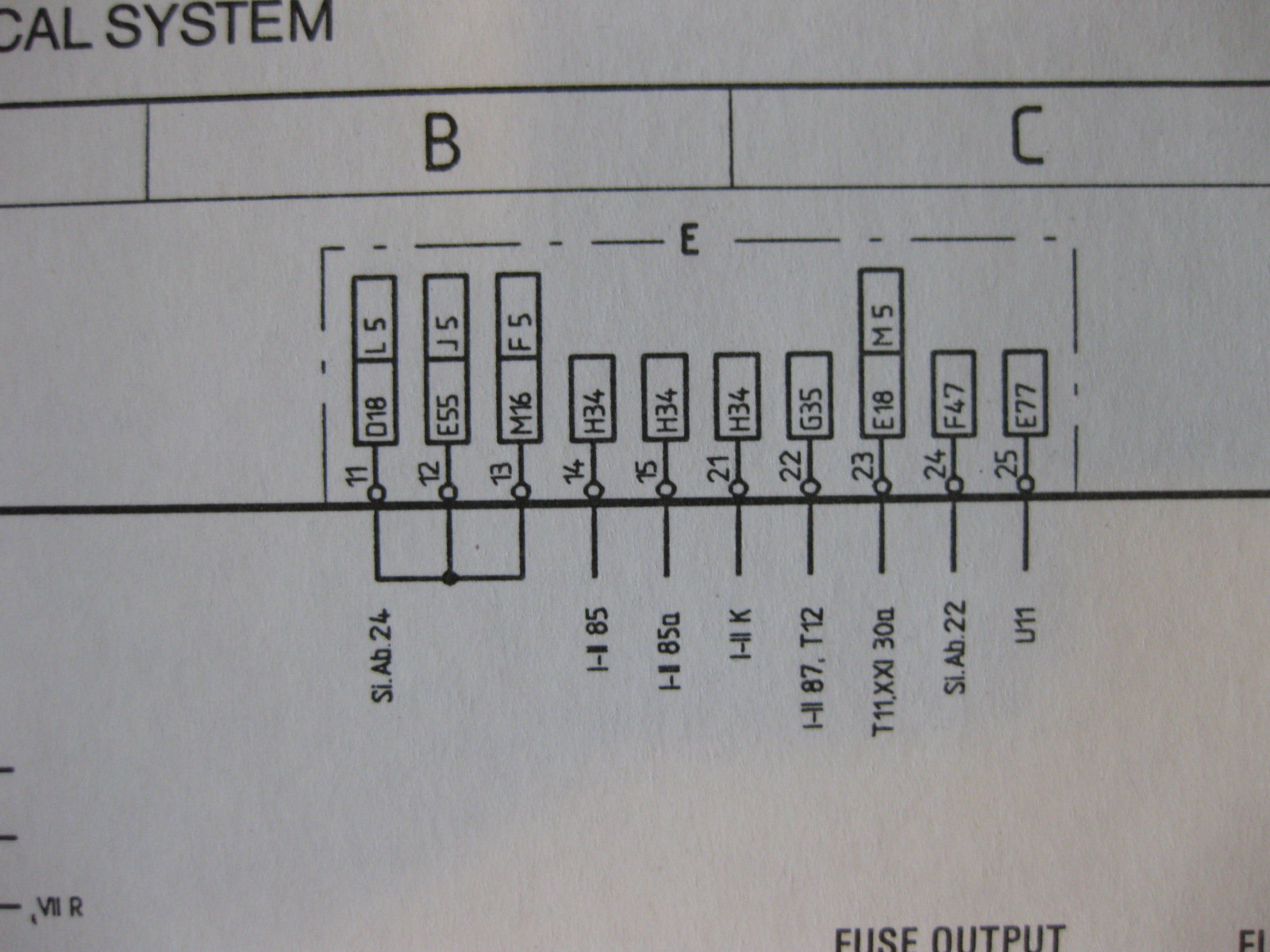 Fuse Panel Wiring Question 1987 S4 - Rennlist