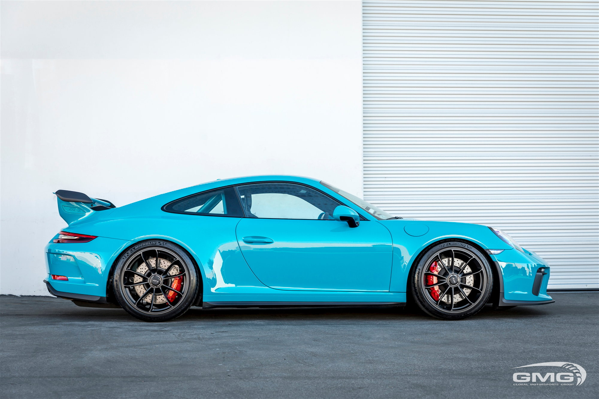 Miami Blue 991 2 Gt3 Matching Roll Bar Exhaust More