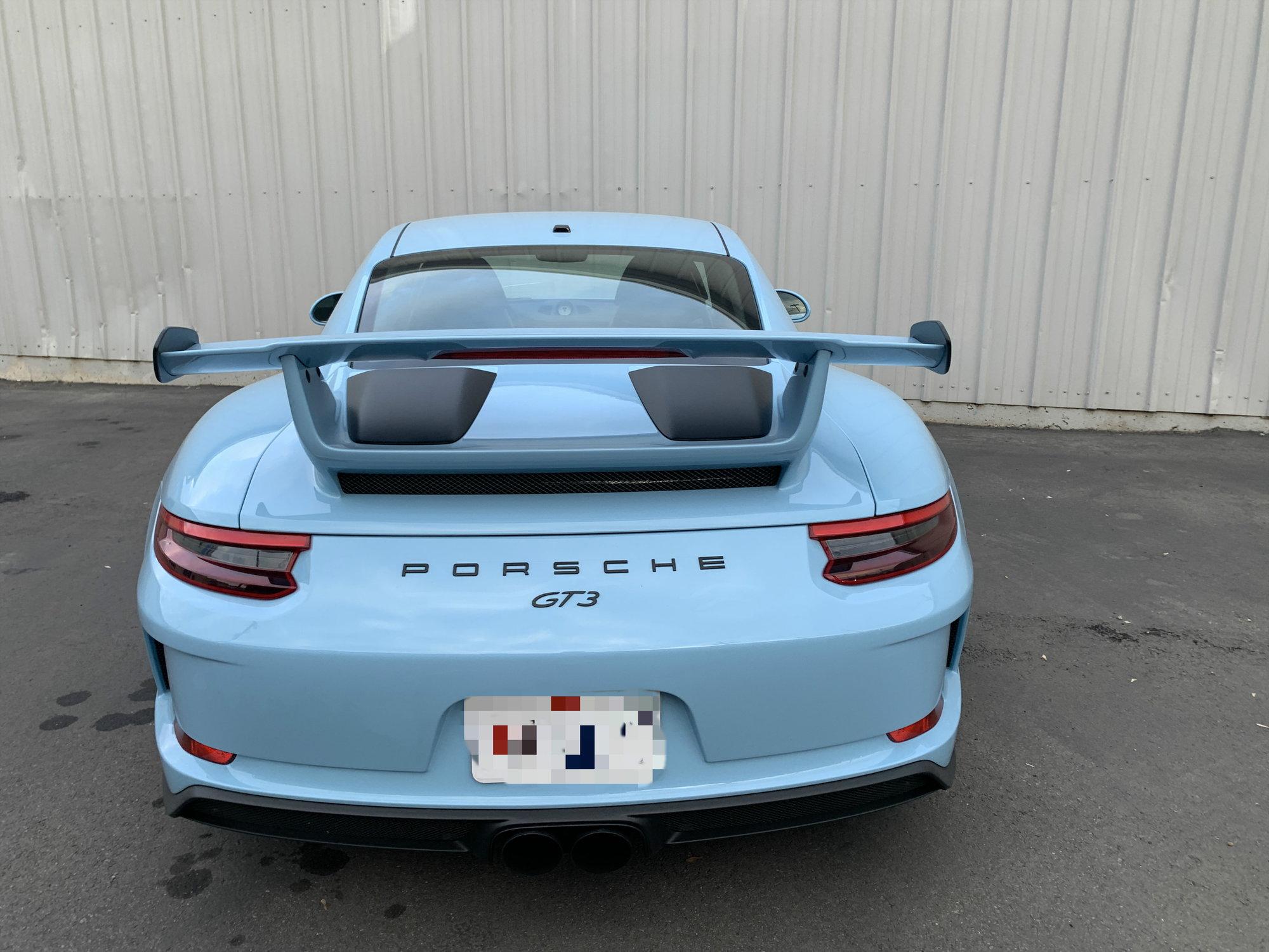 2018 PTS GULF BLUE MANUAL - Rennlist - Porsche Discussion Forums
