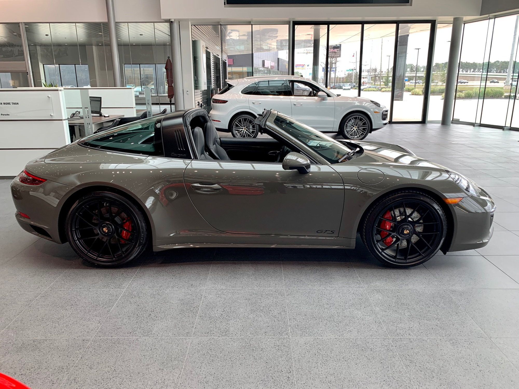New 2019 911 Targa 4 GTS PTS Alex Grey MT!