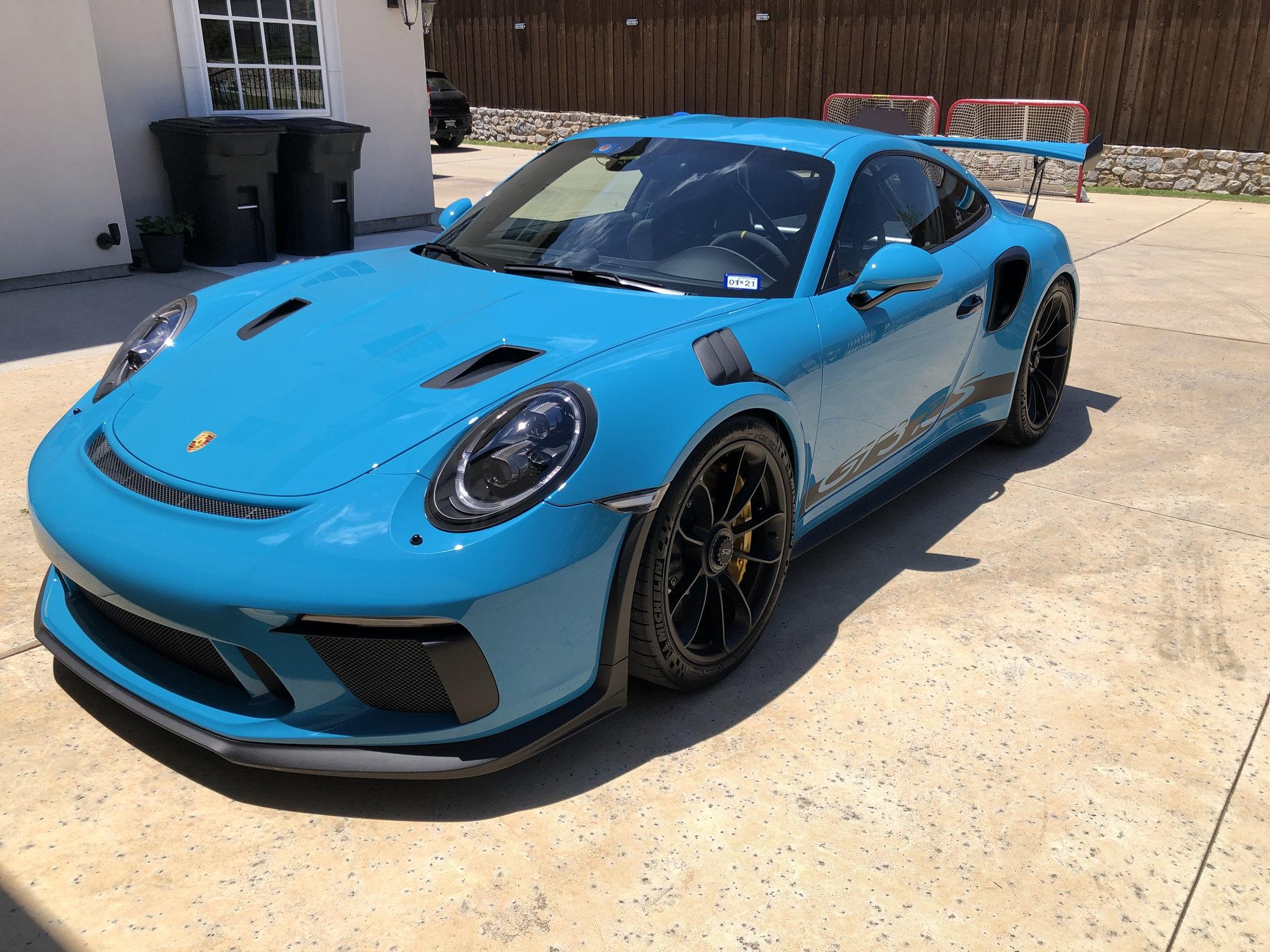 FS: Miami Blue 2019 GT3 RS - Rennlist - Porsche Discussion ...