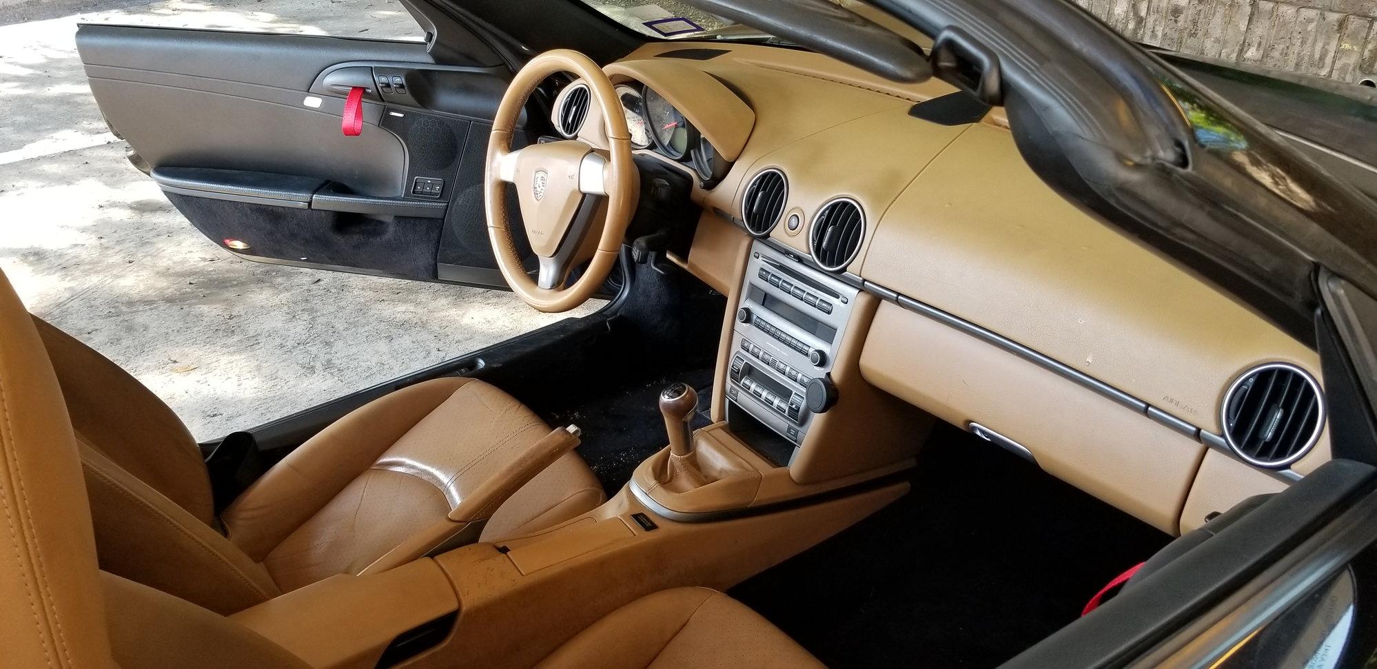 Project Boxster Almost Complete Two Tone Interior Suspension Etc Mods Rennlist Porsche Discussion Forums