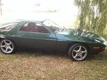 Something less random, 79 5 speed, oak green over cork