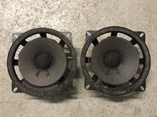 Original front door speaker, cone deteriorated