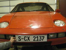 S-CX 2137 was the original Porsche Factory license number