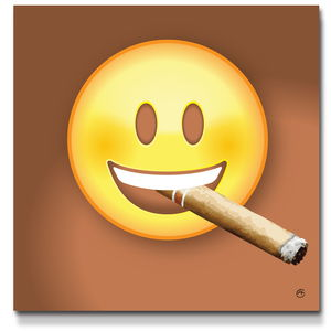 Image result for i dont know cigar emoji