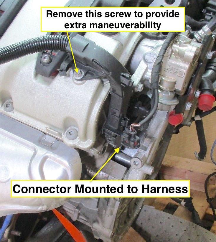 cayenne s 957 v8 crankshaft position sensor replacement diy rennlist porsche discussion forums