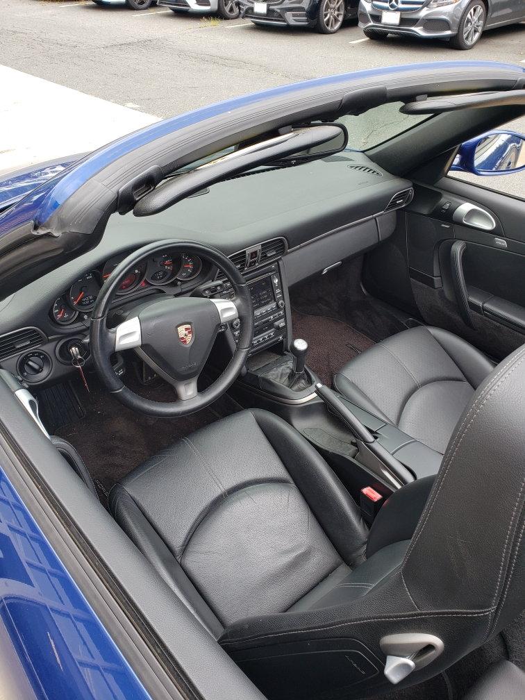2009 Porsche 911 Carrera Cabriolet Manual