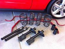 Eibach Pro-System-Plus-Kit (springs, dampers, sway bars)