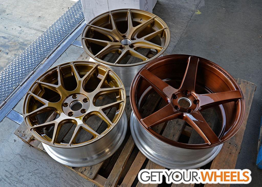 Need help/opinions on bronze/gold PowderCoat wheels ...