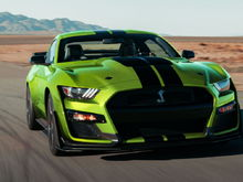2020 Ford Mustang Shelby GT50 Grabber Lime