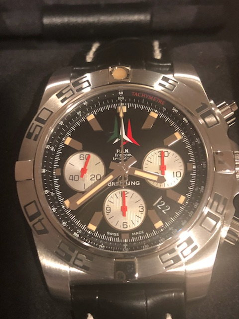 Breitling Chronomat 44 Frecce Tricolori Watch with