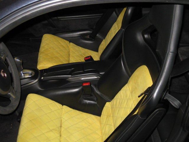 Cars For Sale Austin Tx >> Alcantara GT2 Sport Bucket Seat Covers - Yellow w/Black