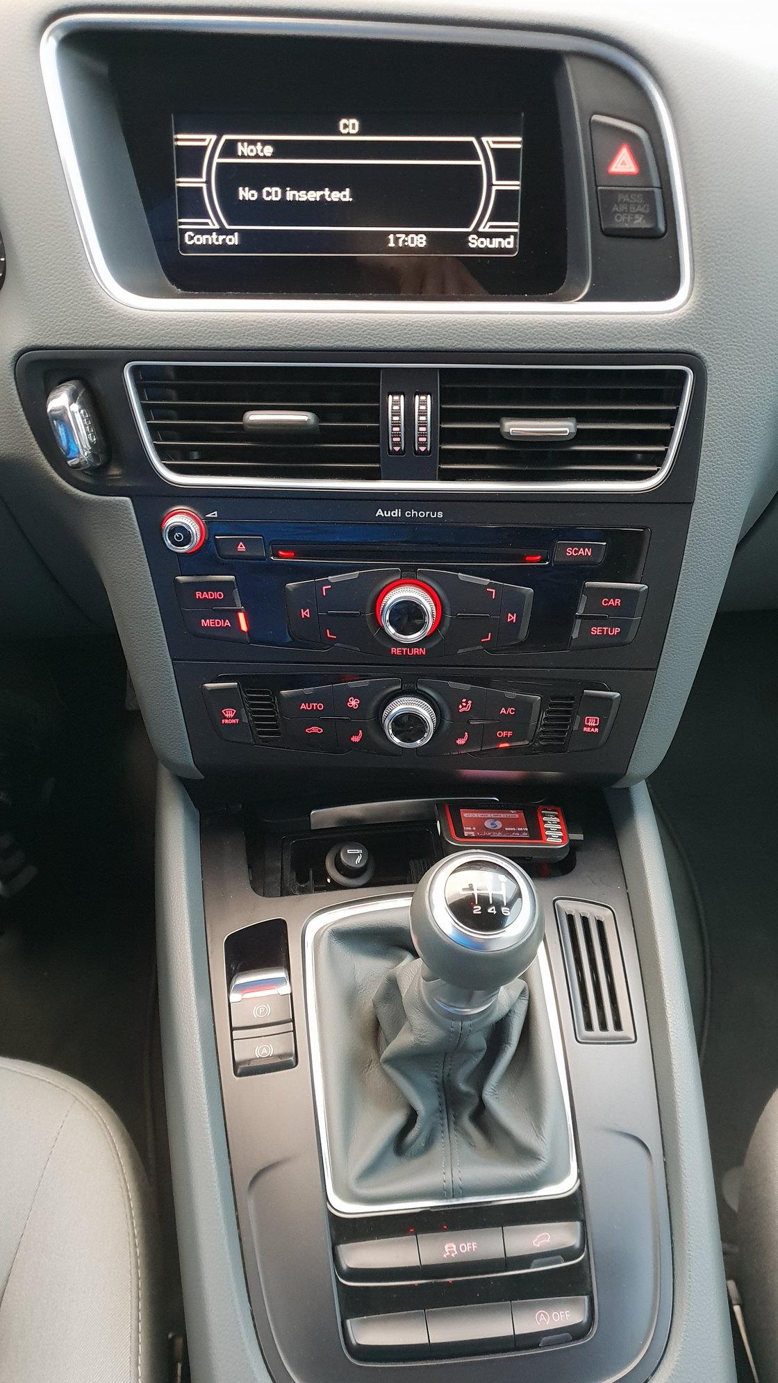 Chorus Radio Audi Q5 Aux And Navigation Android Audiworld Forums
