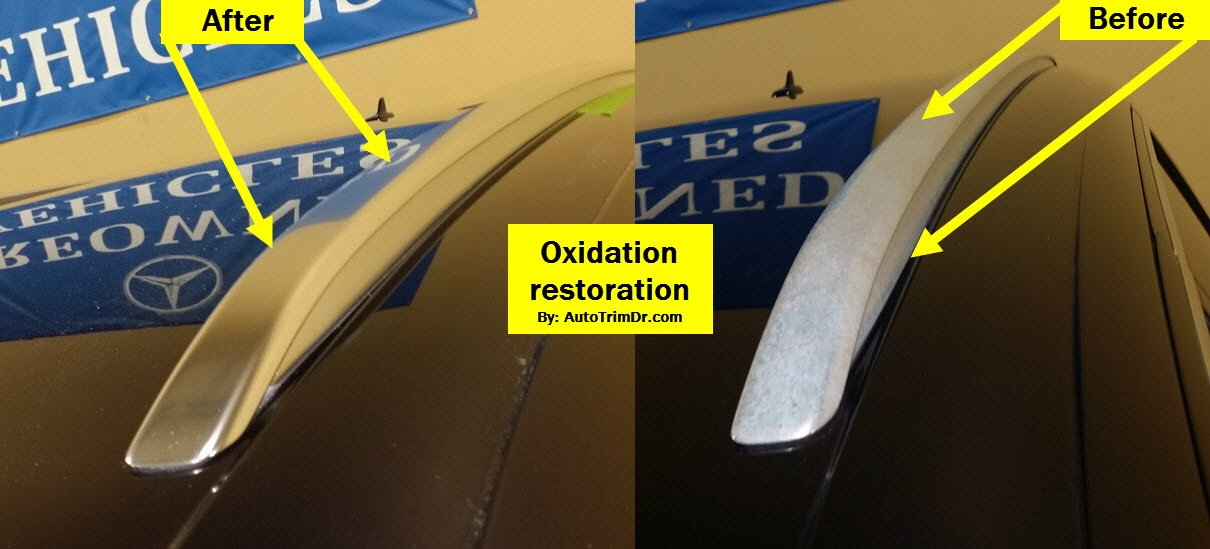 Water spots/oxidation on chrome trims - AudiWorld Forums
