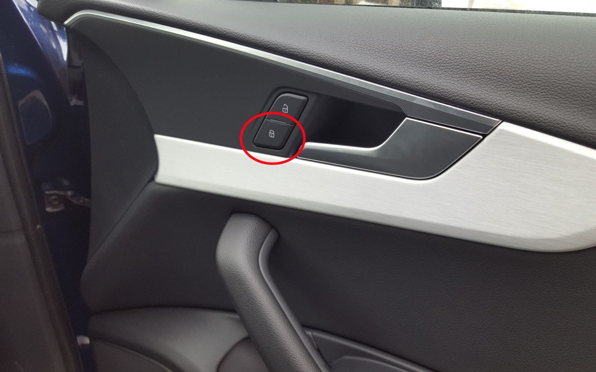 car door lock button. It Doesn\u0027t Work For Me, Either From The Driver Or Passenger Door. What Am I Doing Wrong? Car Door Lock Button
